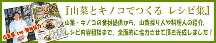 山菜とキノコでつくるレシピ集