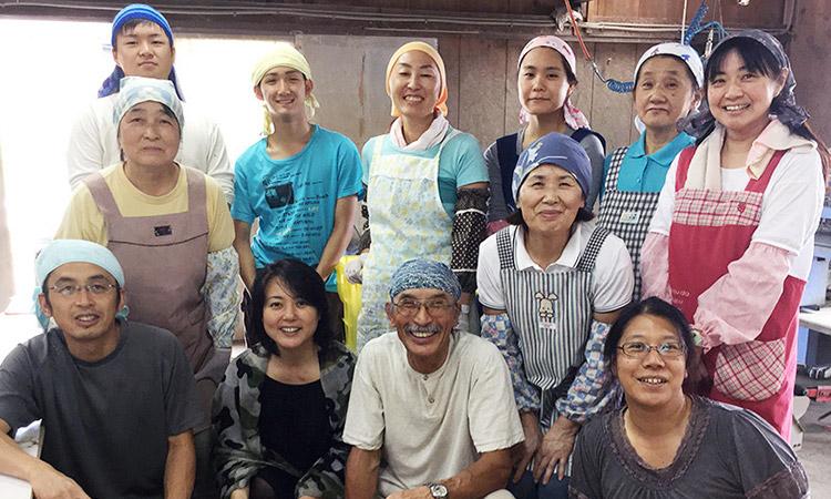 白山だだちゃ豆農家の冨樫さん 杉田かおるさんが訪問