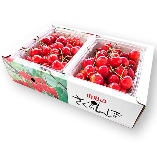 【秀】 佐藤錦 2Lサイズ (1Kgバラ詰)
